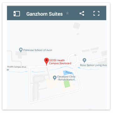 map-of-location-of-ganzhorn-suites-avon
