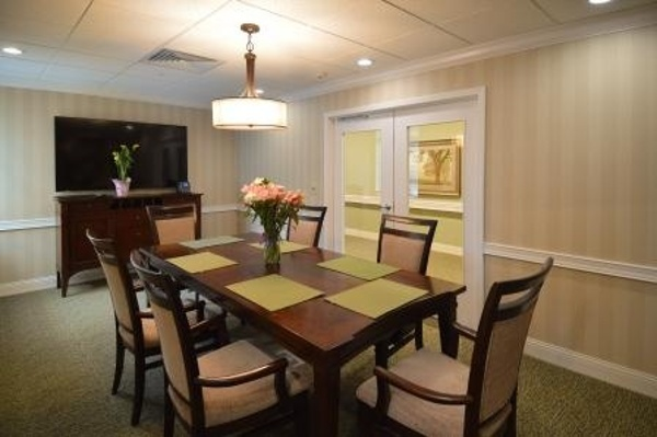 Conference room in our assisted living center