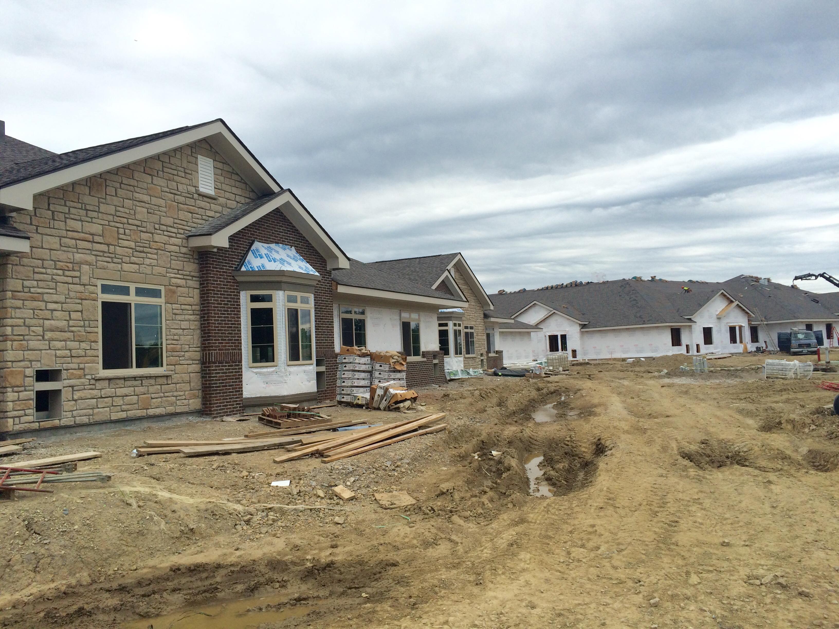 Construction Progress for our Senior Living Center