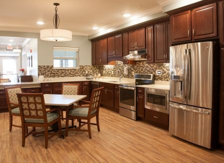 Kitchen in our assisted living center