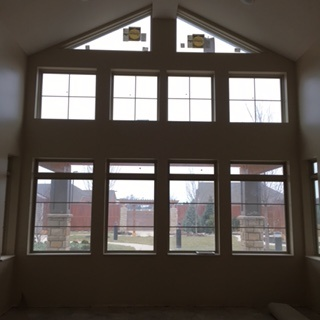 Large window in our assisted living facility