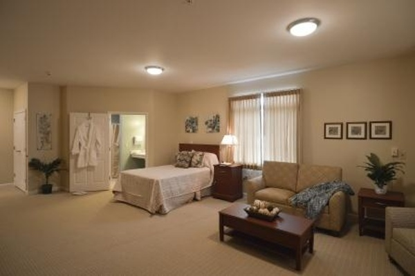 Luxury Suite at our memory care center