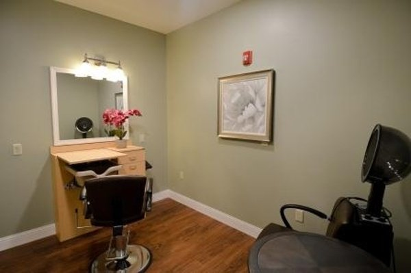 Salon at our memory care center