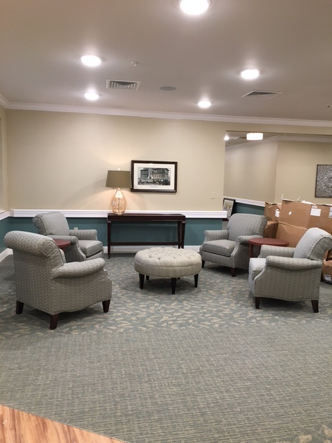 Common area with chairs
