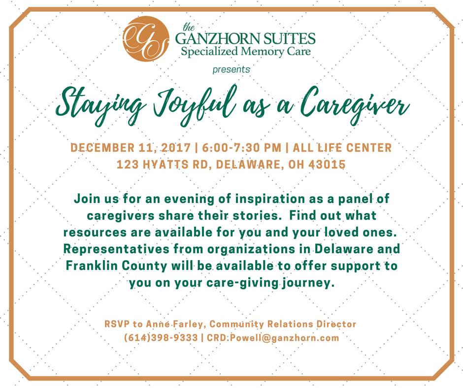 Staying Joyful As A Caregiver
